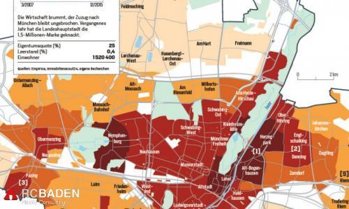 Цены на недвижимость в Мюнхене.